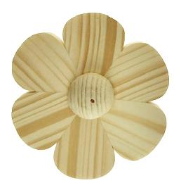 Nootmuskaathout lotusbloem 3 inch wierookhouder