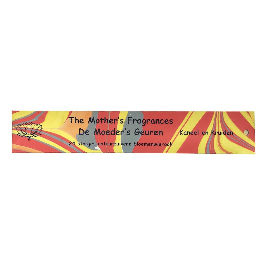 kaneel en kruiden wierook 24 lange stokjes