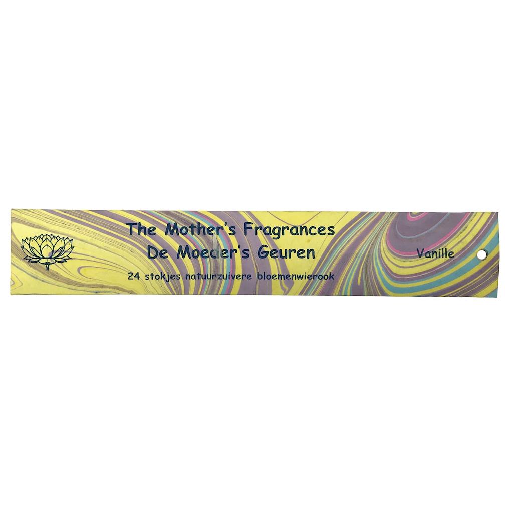 vanille wierook 24 lange stokjes